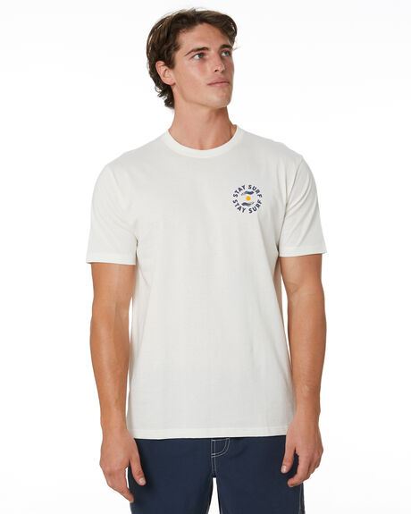 NATURAL MENS CLOTHING STAY TEES - STE-20404NAT