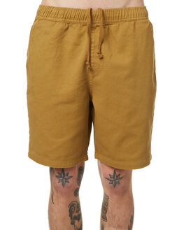 HONEY MUSTARD MENS CLOTHING NO NEWS SHORTS - N5174234HMUST