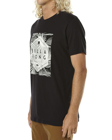 BLACK MENS CLOTHING BILLABONG TEES - 9561022BLK
