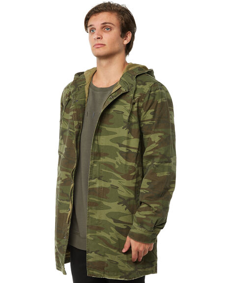 CAMO MENS CLOTHING THRILLS JACKETS - TA8-205ZCAMO