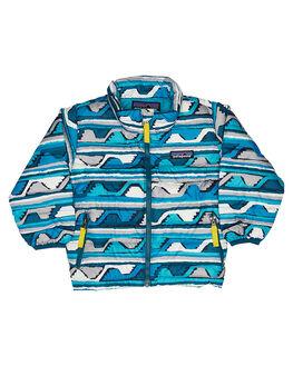 DELTA DEEP SEA BLUE KIDS BABY PATAGONIA CLOTHING - 60519DDSB