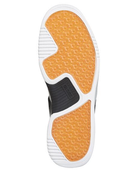 BLACK WHITE MENS FOOTWEAR GLOBE SNEAKERS - GBTILTEVO-10046