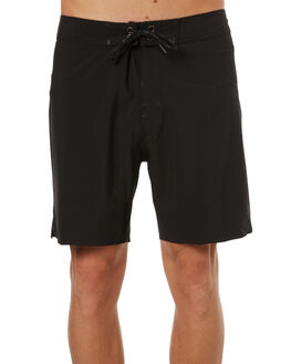 BLACK MENS CLOTHING GLOBE BOARDSHORTS - GB01728015BLK