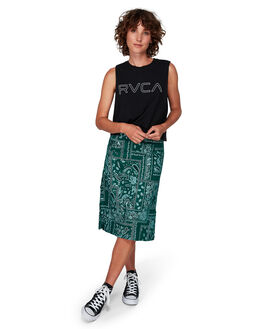 EVERGREEN WOMENS CLOTHING RVCA SKIRTS - RV-R292831-E22