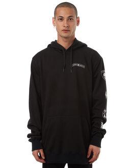 BLACK SE MENS CLOTHING DC SHOES JUMPERS - EDYFT03288KVJ2