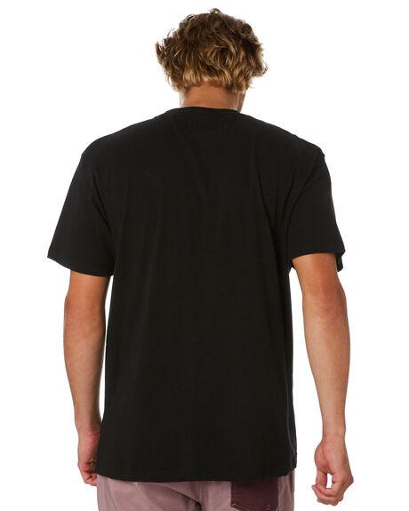 BLACK MENS CLOTHING THE CRITICAL SLIDE SOCIETY TEES - TE18279BLK