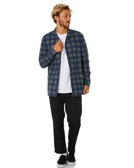 ARGON BLUE MENS CLOTHING GLOBE SHIRTS - GB01934006ARGBL