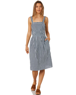 COPPERFIELD STRIPE WOMENS CLOTHING RUE STIIC DRESSES - SA19-32-FSB