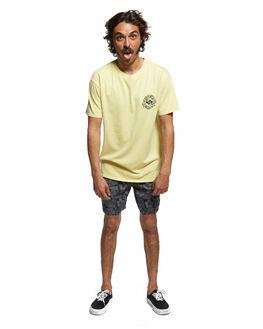 YELLOW IRIS MENS CLOTHING QUIKSILVER TEES - EQYZT05464-YZJ0