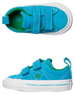 HAWAIIAN OCEAN GREEN KIDS TODDLER BOYS CONVERSE FOOTWEAR - 760037HAW