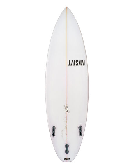 CLEAR BOARDSPORTS SURF MISFIT SURFBOARDS - MFSHADOWPUPPETSPR