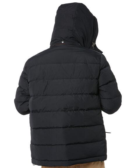 BLACK MENS CLOTHING DEUS EX MACHINA JACKETS - DMF96481ABLK