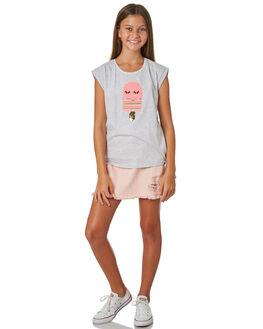 GREY MARLE KIDS GIRLS EVES SISTER TOPS - 9920041GRYMR