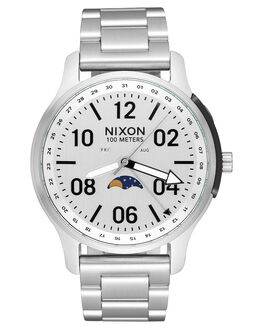ALL SILVER MENS ACCESSORIES NIXON WATCHES - A12081920