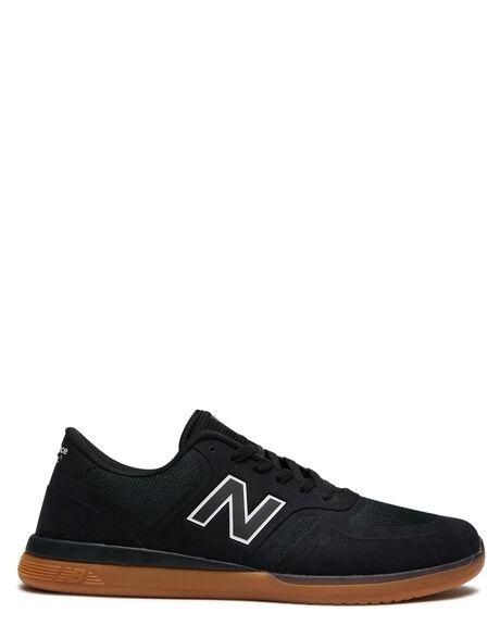 BLACK GUM MENS FOOTWEAR NEW BALANCE SNEAKERS - NM420GUMBLKG