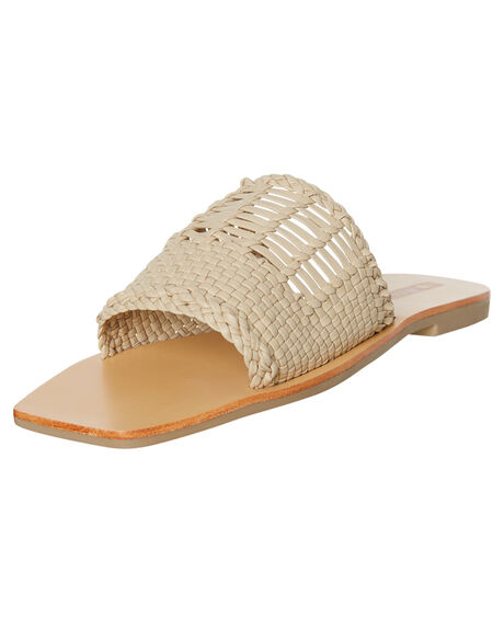 BIRCH WOMENS FOOTWEAR SOL SANA SLIDES - SS191S332BIRCH