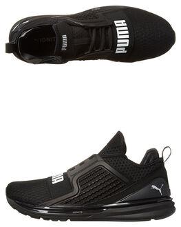 BLACK MENS FOOTWEAR PUMA SNEAKERS - 18949-501