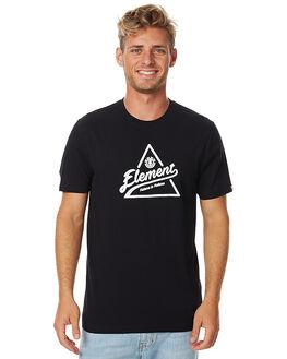 FLINT BLACK MENS CLOTHING ELEMENT TEES - 176005FBLK