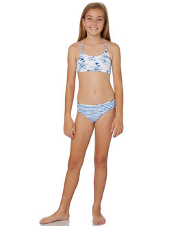 WHITE BLUE KIDS GIRLS SEAFOLLY SWIMWEAR - 27078WHIT