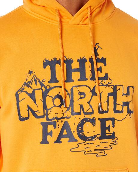 LT EXUBERANCE ORANGE MENS CLOTHING THE NORTH FACE JUMPERS - NF0A5328PKH