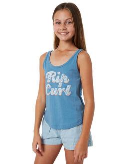 BLUE HEAVEN KIDS GIRLS RIP CURL TOPS - JTEDN18976