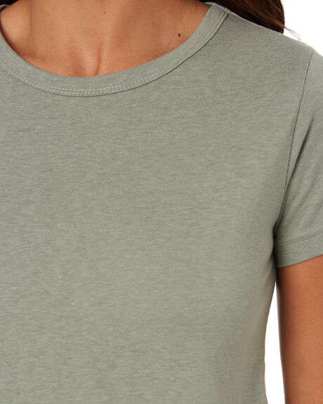 MINERAL GREEN WOMENS CLOTHING SWELL TEES - S8211002MINGN