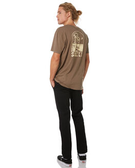 OLIVE MENS CLOTHING SWELL TEES - S52011017OLIVE