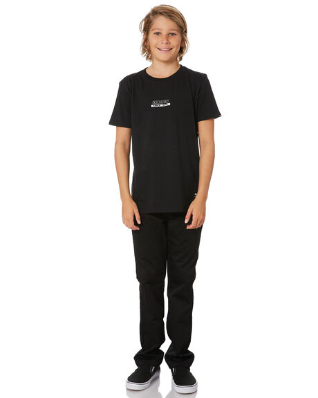 BLACK KIDS BOYS ST GOLIATH TOPS - 2451003BLK