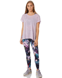 PALE ORCHID LILAC WOMENS CLOTHING LORNA JANE ACTIVEWEAR - 101958LIL