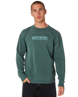 ALPINE GREEN MENS CLOTHING PASS PORT JUMPERS - PPICYHOTALPNG