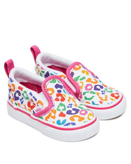 PURPLE KIDS GIRLS VANS FOOTWEAR - VN0A3488WKVPUR