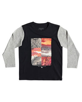 BLACK KIDS BOYS QUIKSILVER TOPS - EQKZT03301-KVJ0