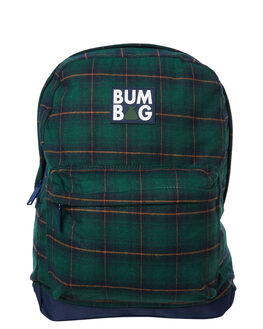 GREEN MENS ACCESSORIES THE BUMBAG CO BAGS + BACKPACKS - BP004GRN