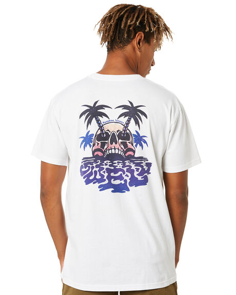 WHITE MENS CLOTHING SWELL TEES - S5214006WHT