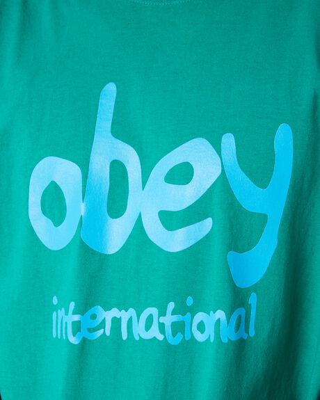 EMERALD MENS CLOTHING OBEY TEES - 166911969EMRLD