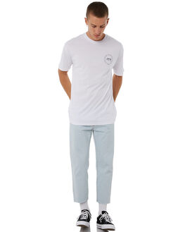 WHITE MENS CLOTHING STUSSY TEES - ST085022WHT
