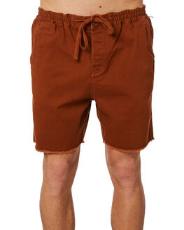 RUST OUTLET MENS THE CRITICAL SLIDE SOCIETY SHORTS - ASW1706RUS