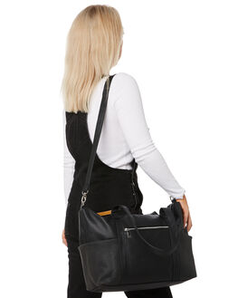 BLACK WOMENS ACCESSORIES RUSTY BAGS + BACKPACKS - BFL1049BLK