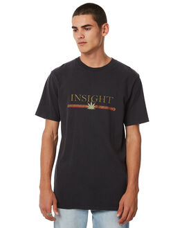 DUSTY BLACK MENS CLOTHING INSIGHT TEES - 5000002636DBLK