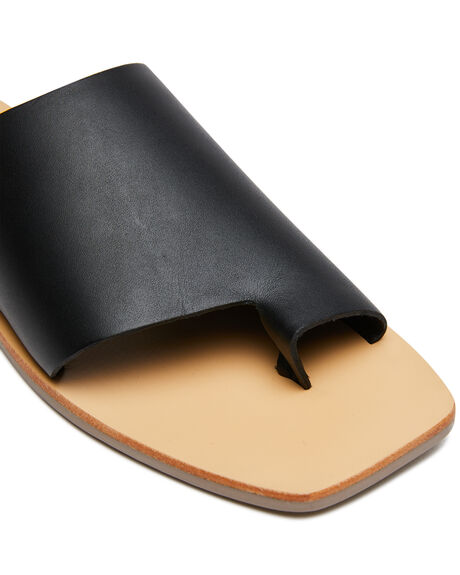 BLACK WOMENS FOOTWEAR SOL SANA FASHION SANDALS - SS201S251BLK