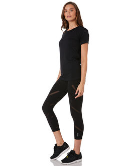 BLACK WOMENS CLOTHING LORNA JANE ACTIVEWEAR - LB0231BLK