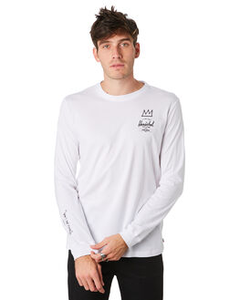 BASQUIAT WHITE MENS CLOTHING HERSCHEL SUPPLY CO TEES - 50029-00448BSQWH