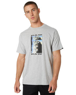 SILVER MARLE MENS CLOTHING ZANEROBE TEES - 131-WORD-SLVR