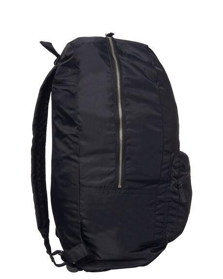 BLACK MENS ACCESSORIES STUSSY BAGS + BACKPACKS - ST773029BLK