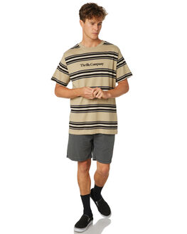 TAN MENS CLOTHING THRILLS TEES - TR8-110CZTAN