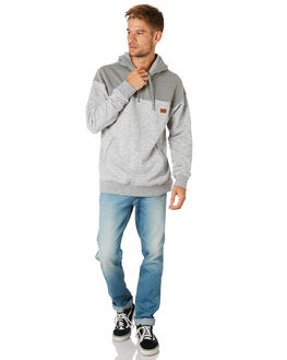 GREY HEATHER MENS CLOTHING BILLABONG JUMPERS - 9595635GRYHT