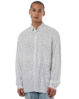 WHITE BLACK MENS CLOTHING ZANEROBE SHIRTS - 310-LYKMWHTB