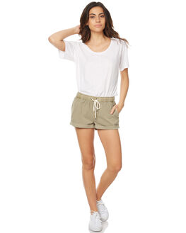 CAMEL WOMENS CLOTHING SWELL SHORTS - S8173231CAM