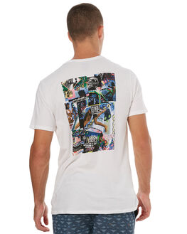 WUPER WHITE MENS CLOTHING O'NEILL TEES - 4411112SWHT