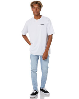 WHITE MENS CLOTHING PATAGONIA TEES - 38504WHI